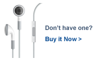 Get iPod Touch Headset and Mic for MHM Studio